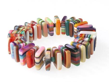 Armband Chips Quadrat Pop