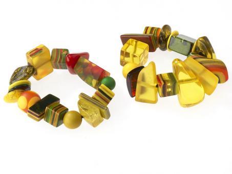 Armband Indiana gelb (Mix 106)