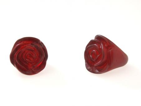 Ring Rose bordeaux (108F) Gr.54