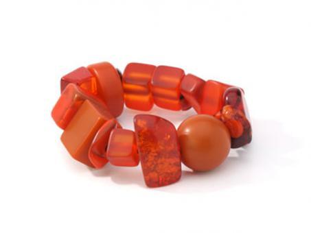 Armband Indiana orange (Mix 109)