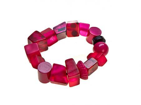Armband Indiana pink108