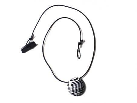 Sobral Halskette schwarz/weiß