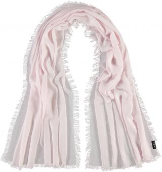 Polyester-/ Viscose-Schal rosa