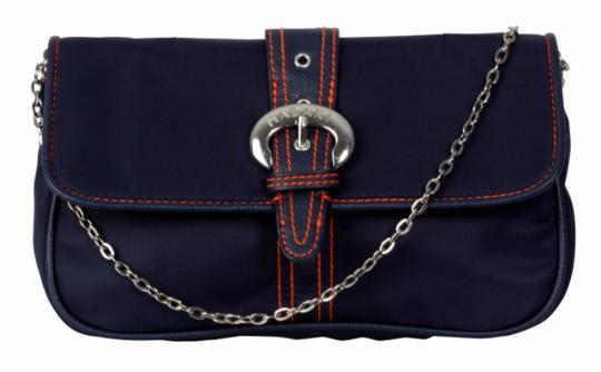 Clutch Handtasche dunkelblau