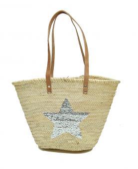 Korbtasche Star Strandtasche - Basttasche