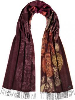 Cashmink-Schal mit Floral-Design 50% reduziert!