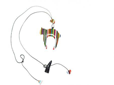 Halskette Gato Color Pop Dia