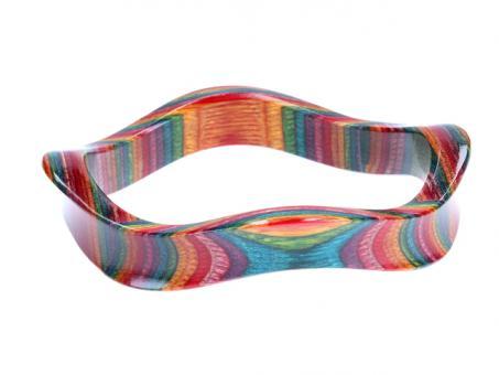 Teekri Armreif Aria rainbow 65mm
