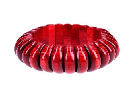 Teekri Armband Florence deep red cherry