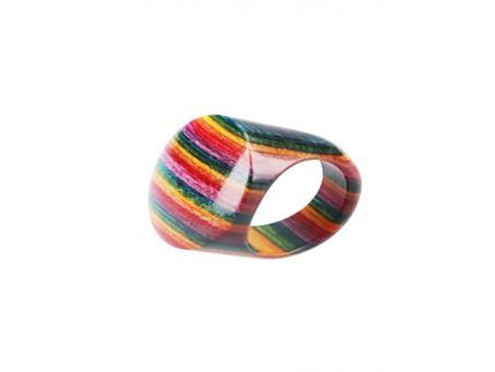 Teekri Ring Zest rainbow  Gr.10