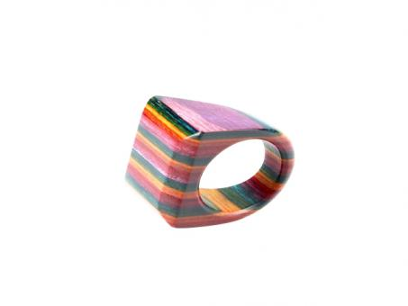 Teekri Ring Zeal rainbow Gr.10